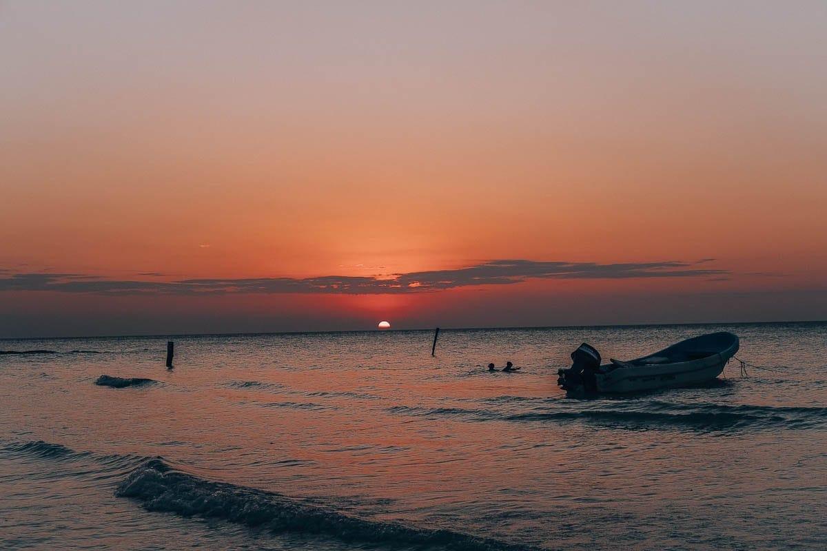 západ slunce Hoblox