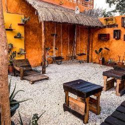 Agavero hostel v Cancunu