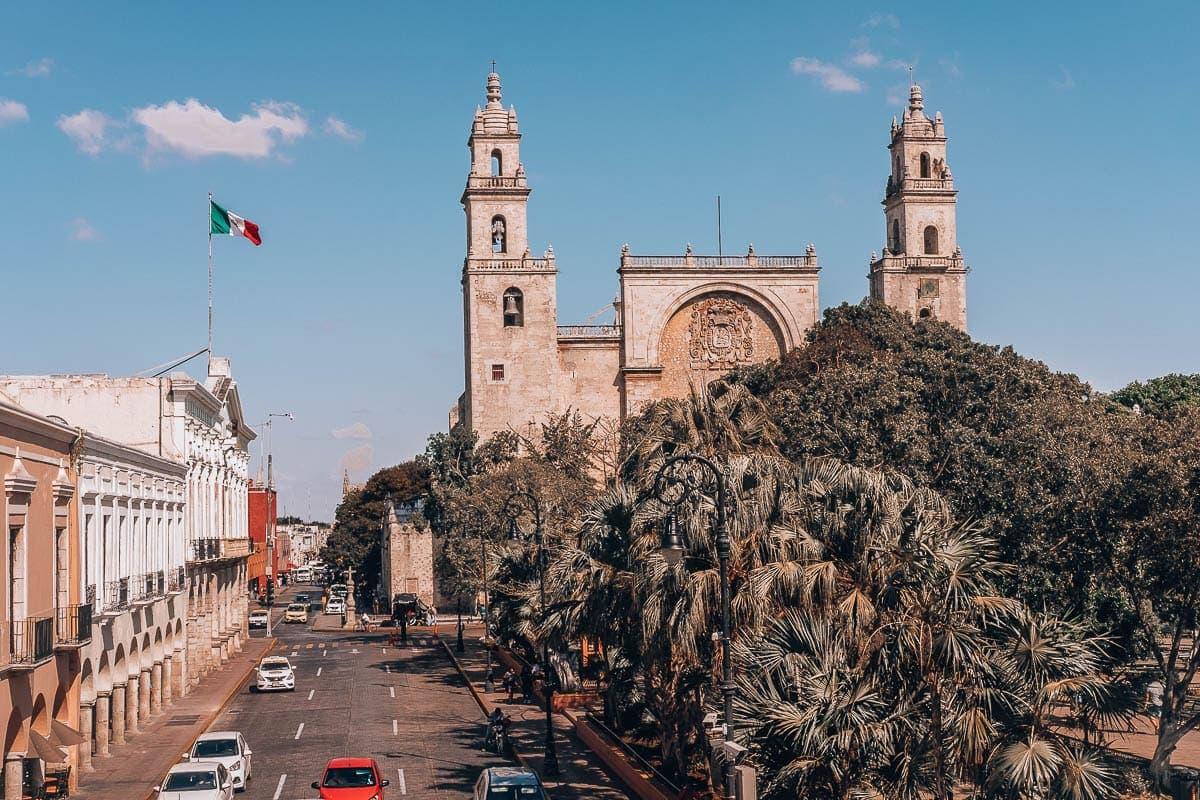 Historické centrum mexického města Merida