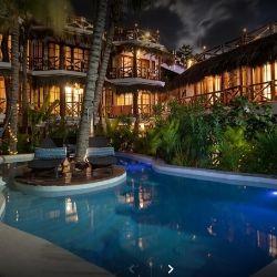 Ubytování na ostrově Holbox, hotel Para Ti