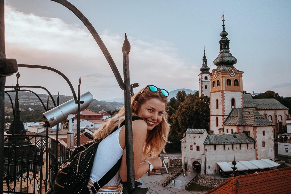 Banská Bystrica - výhled na město
